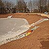Errichtung eines Retentionsbodenfilters